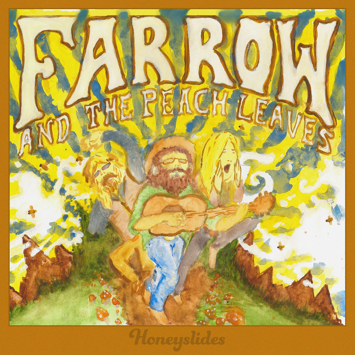 Farrow and the Peach Leaves – Flowers